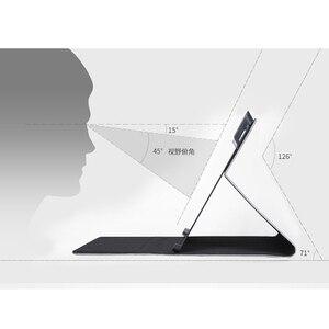 Image 3 - 2019 nova moda unisex tablet manga flip suporte capa para microsoft surface pro 3 4 5 6 12 12.3 polegada caso das mulheres dos homens manga saco