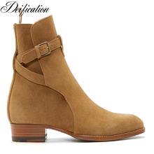 Дизайнерские мужские ботинки deкомплектации hedi jodhpur модные