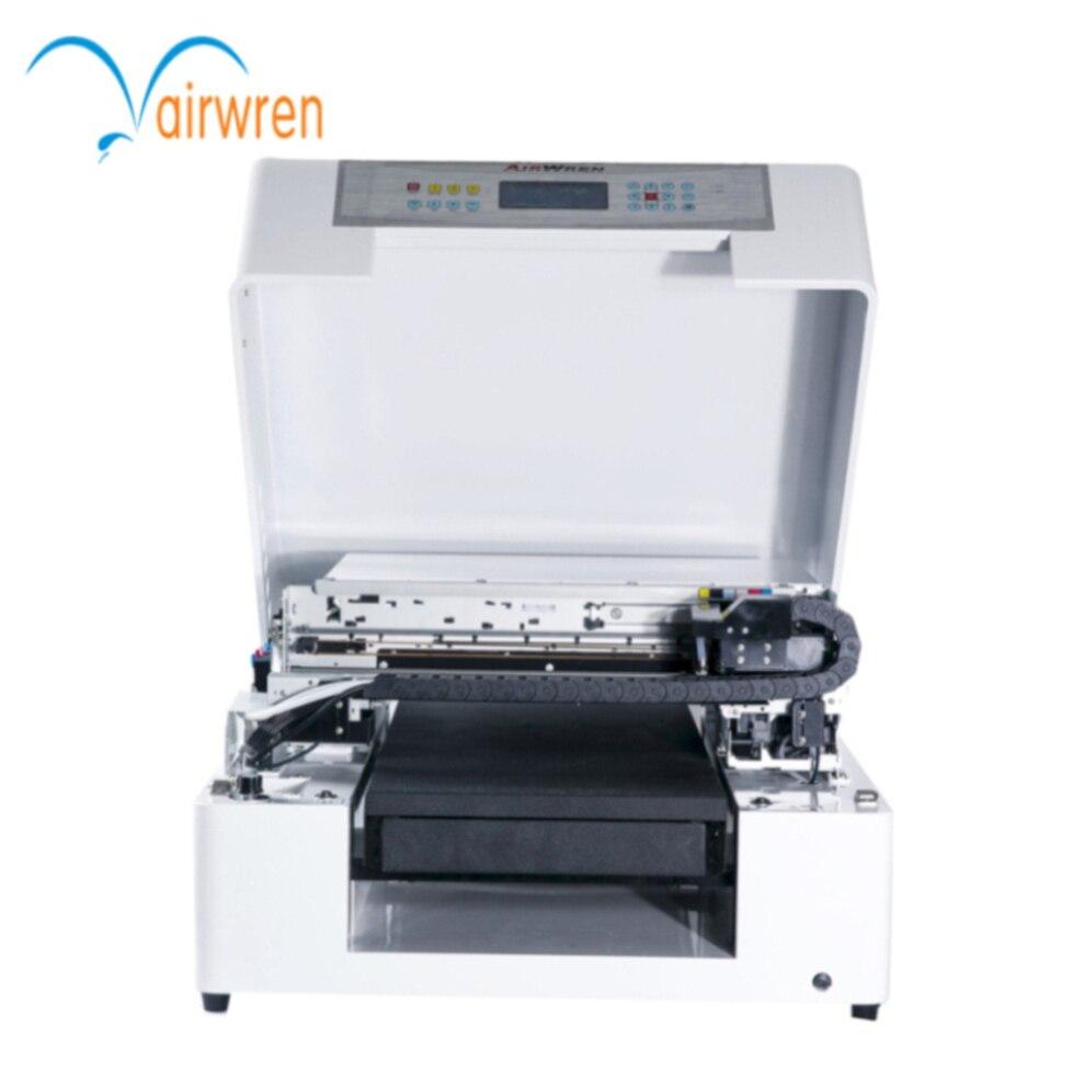Торговая визитная карточка машина УФ планшетный металлический принтер id карты принтер