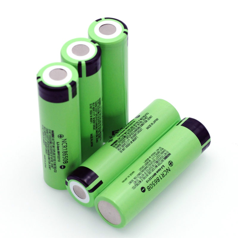 High capacity original NCR18650B 3.7V 3400mAh <font><b>18650</b></font> rechargeable lithium battery for Panasonic battery + DIY nickel piece image