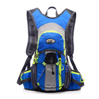 12L Waterproof Nylon Cycling Bicycle Bike Backpack Ultralight Sport Outdoor Riding Travel Mountaineering Bag