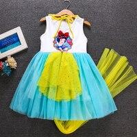 74b0d05bc3 Summer Girl Dress Princess Sofia Dresses Kids Baby Snow White Party Dress  Elsa Cotton Fancy Costume. Letnia sukienka dziewczyny Princess Sofia  sukienki ...