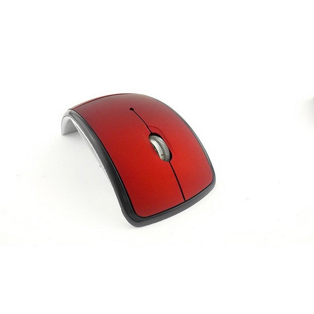 Wireless Mouse 2.4 Ghz Computer Mouse Optical USB Matte Surface Foldable Ergonomic Mice For Computer Laptop Desktop