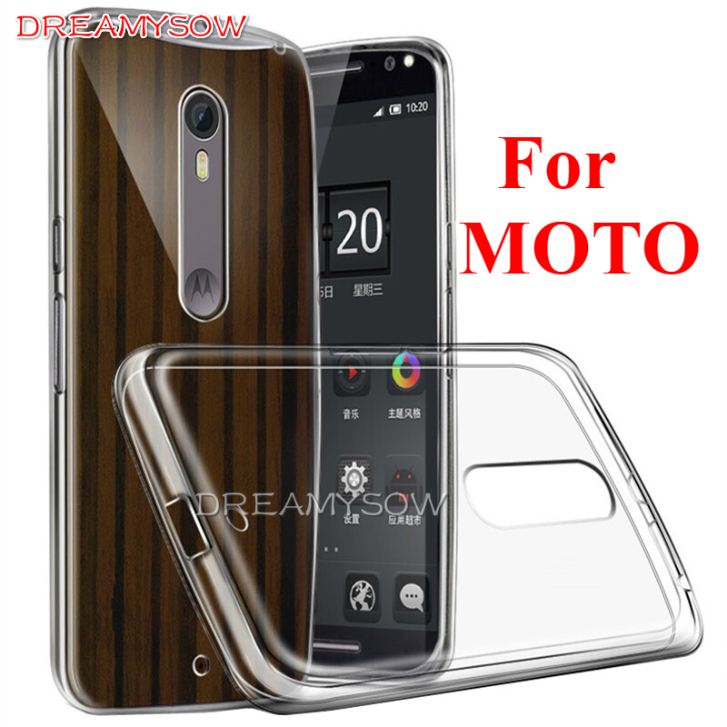 High Quality Crystal Soft TPU Phone Case For Motorola MOTO X3 LUX E4 plus X4 G5S PLUS C Plus G5 Plus Z X G4 PLAY G2 G3 Case