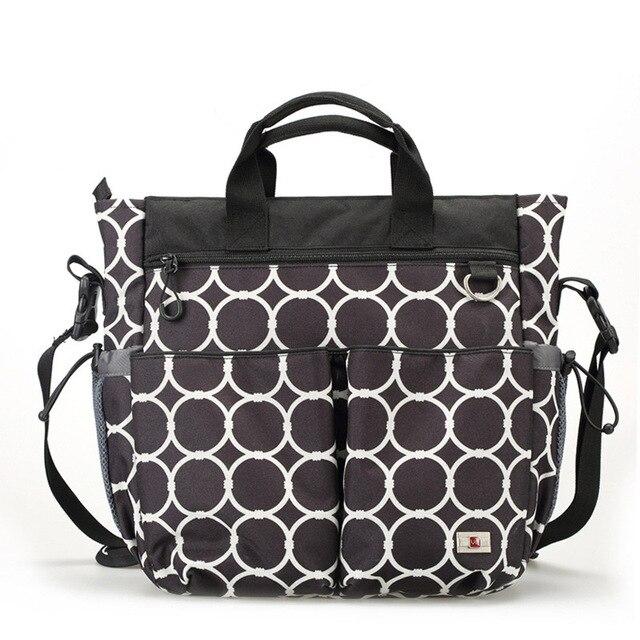 Luxury Women Messenger Bags Multifunctional Diaper Organizer Baby Ny Bag Maternity Stroller Bolsa Bebe
