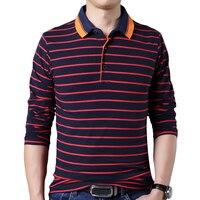 Fashion Mens Tshirt Cotton Fitness Casual Male T Shirt Men Striped Cotton Men S Long Sleeve