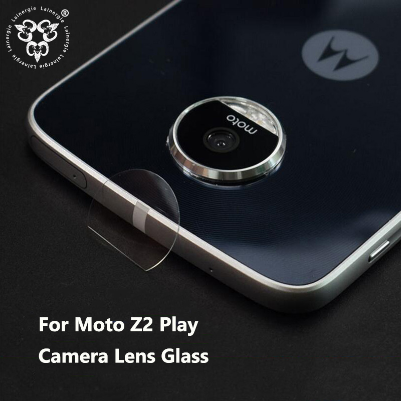 Lainergie 10PCS Back Rear Camera Lens Protector for Moto Z2 Play Camera Protector Tempered Glass Protective Film Protection