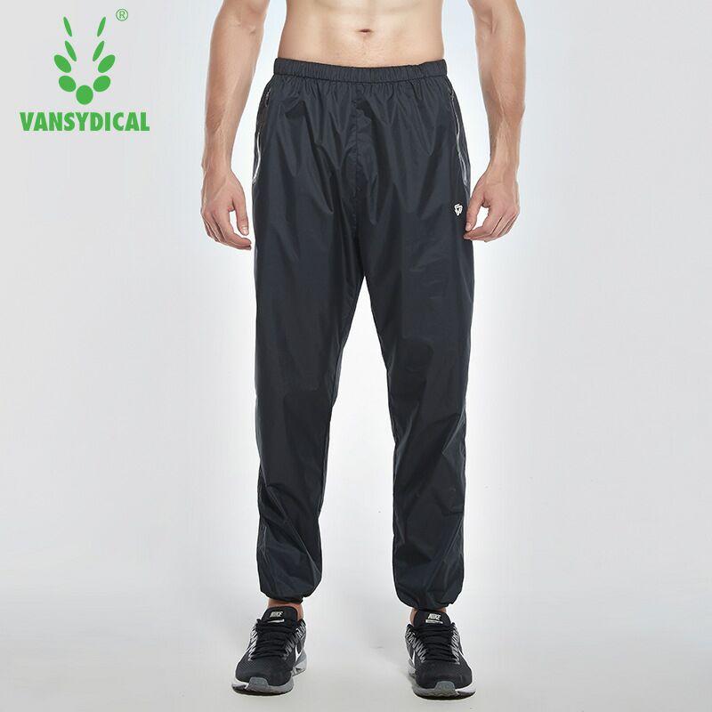 Vansydical Gym pantalons de survêtement hommes sport pantalons de course Fitness perdre du poids entraînement Jogging rapide transpiration pantalon 4XL
