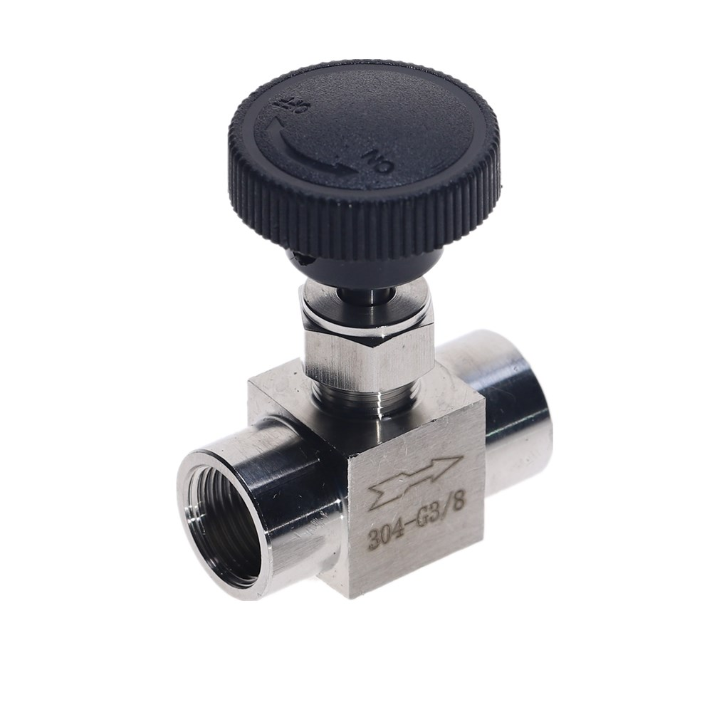 Free Shipping Stainless Steel 304 Needle Valve 1/8'' 1/4'' 1/2'' Female Thread BSP SS304 For Water Gas Oil