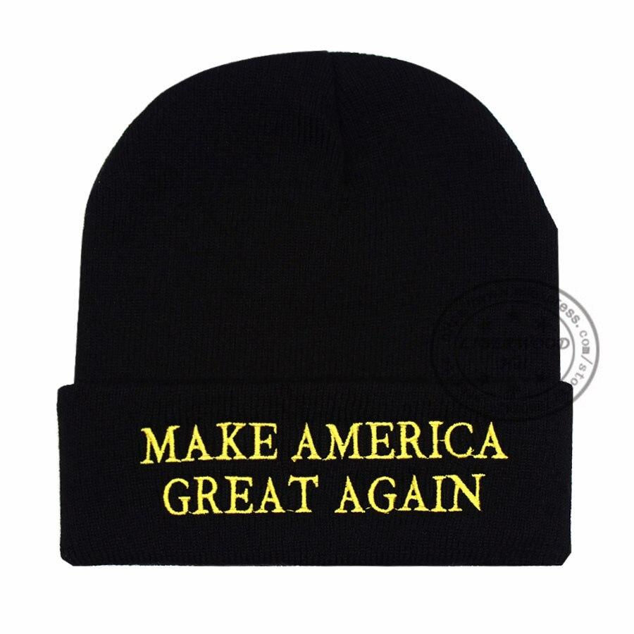 5d657561156 LIBERWOOD  MAGA MAKE AMERICA GREAT AGAIN Winter Beanie Hat USA ...