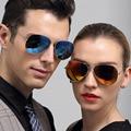 2016 Summer Hot Classic Aviator Colored Sunglasses Polarized Mirror Metal Frame TAC Polaried lenses glasses for Male Female