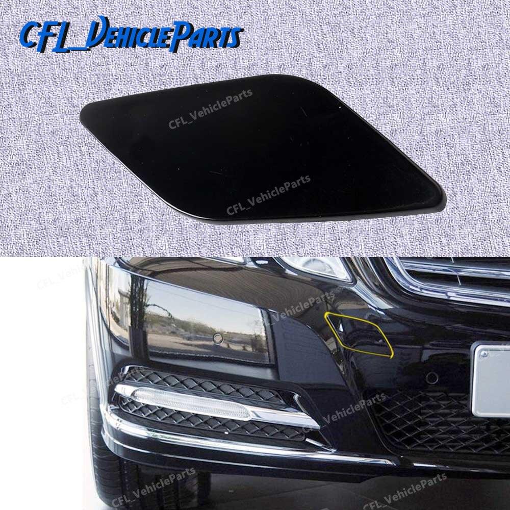Передний бампер буксировочный крючок крышка Неокрашенный 2128850126 для Mercedes-Benz W212 2008-2013 E300 E350 E320 E500