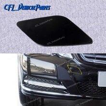 Amortecedor dianteiro tow eye hook cap capa sem pintura 2128850126 para mercedes-benz w212 2008-2013 e300 e350 e320 e500