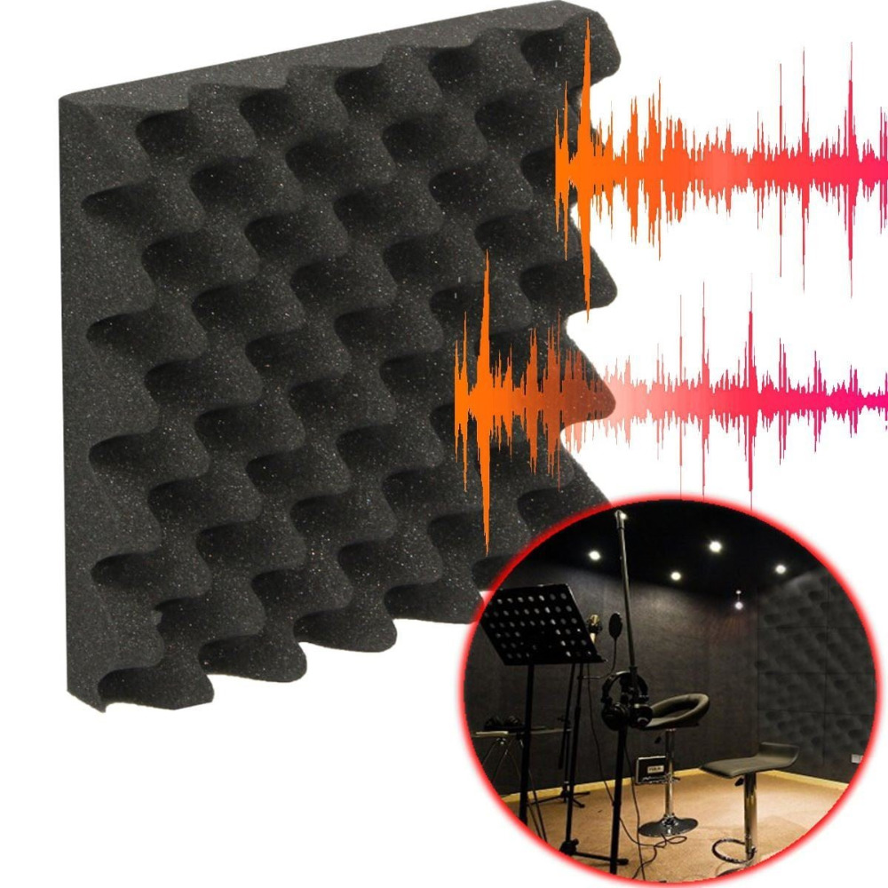 50 50cm sound absorbing and soundproofing studio acoustic foam panels China   MainlandOnline Buy Wholesale exterior soundproofing from China exterior  . Exterior Soundproofing. Home Design Ideas