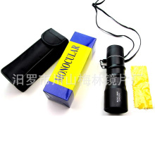 Whole Sale 50pcs/lot HD 16×40 monocular telescope oblique muscle mountaineering outdoor concert portable high-powered telescope