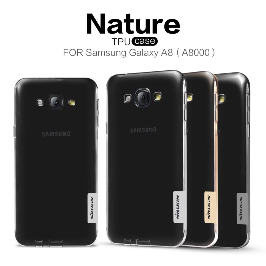 Nillkin Nature Series тонкий прозрачный ТПУ чехол для samsung Galaxy A8 2015 A800F A8000 мягкий силиконовый гель задняя крышка кожи