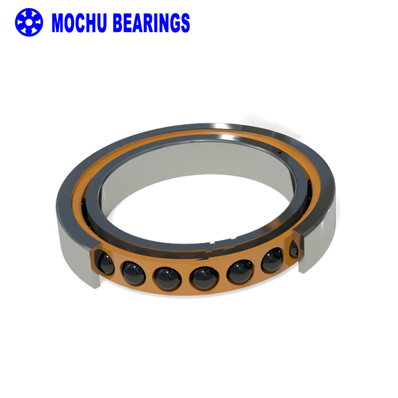 1pcs 71806 71806C P4 HQ1 7806 30X42X7 MOCHU SI3N4 Ceramic ball Angular Contact Bearings Speed Spindle Bearings CNC ABEC-7 1pcs 71901 71901cd p4 7901 12x24x6 mochu thin walled miniature angular contact bearings speed spindle bearings cnc abec 7