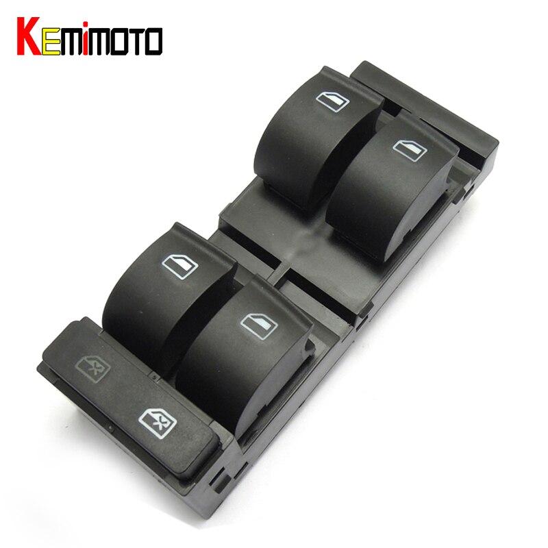 KEMiMOTO Elektrische Fenster Schalter für Audi A6 S6 1998-2004 C5 4B0 959 851 B, 4B0959851B
