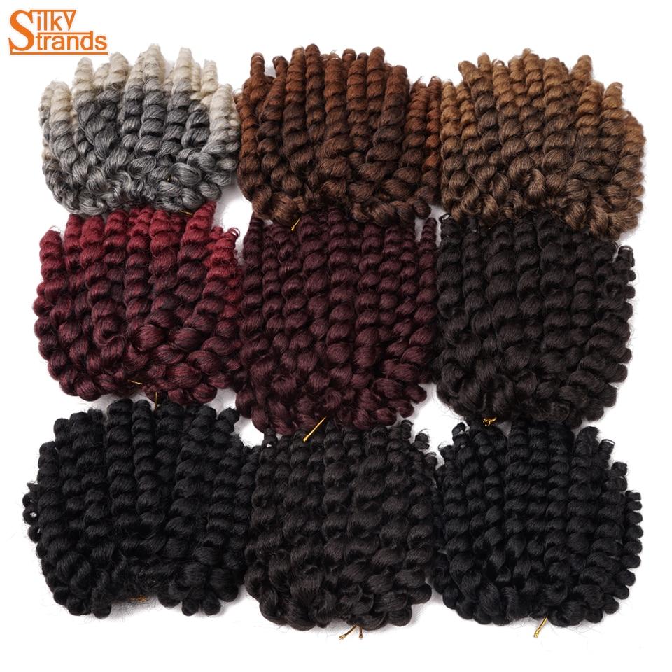 Silky Strands Jumpy Wand Jamaican Bounce Crochet Hair Crochet Braids Hair Extensions Omb ...
