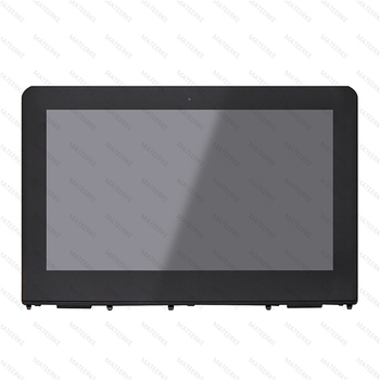 LCD Touch Screen Digitizer Assembly With Bezel For HP x360 11-ab022tu 11-ab033TU 11-ab031tu 11-ab047tu 11-ab049TU 11-ab048tu