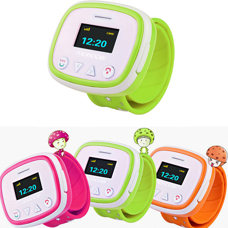 1pc New call Children kids student Smart Watch wrist clocks Remote monitoring GPS Position Tracking SOS emergency Anti-lost H4 wireless service call bell system popular in restaurant ce passed 433 92mhz full equipment watch pager 1 watch 7 call button