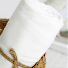 50x150cm Double-deck Cotton yarn cloth white Pure lining diaper clothing The abdomen bring high density Gauze fabric 180g/m