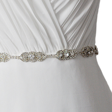 Shiny Rhinestone Wedding Bridal Belt