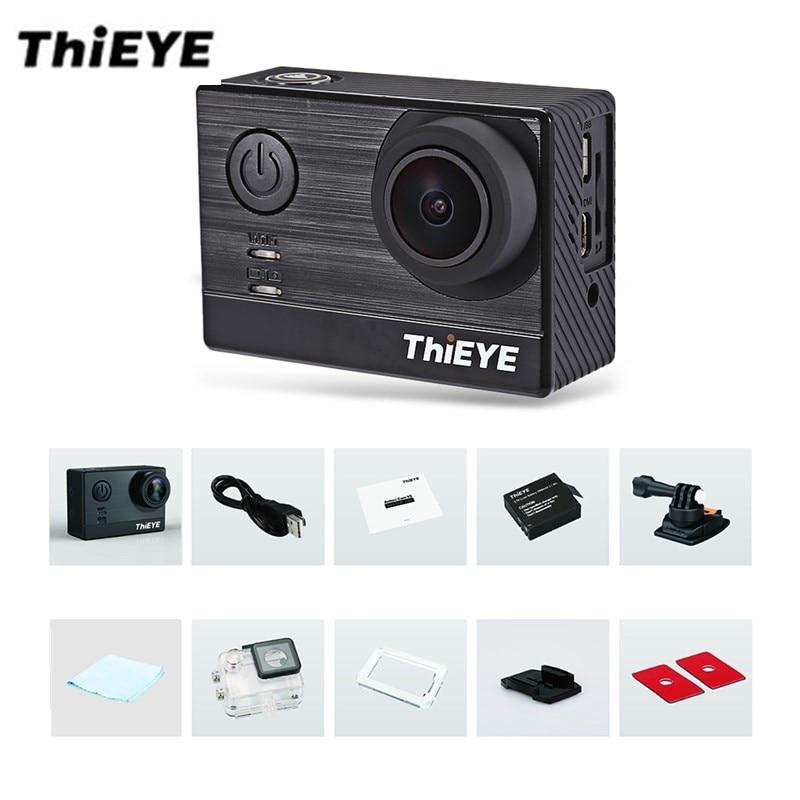 ThiEYE T5e WiFi 4 K 30fps D'action Caméra 12MP 2 pouce TFT LCD Tactile Écran 1080 P Sport Ambarella A12LS75 Chipset IMX117 Capteur HD