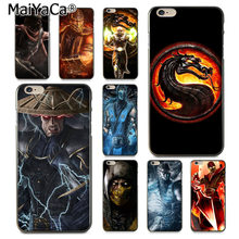 MaiYaCa Mortal Kombat Klassieke High-end Telefoon Accessoires Case voor iPhone 8 7 6 6S Plus X XS XR XSMax 5 5S SE Coque Shell(China)