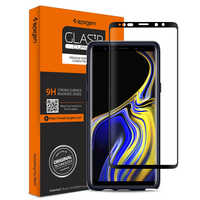 100% Original SPIGEN Glas.tR Curved HD Screen Protector for Samsung Galaxy Note 9