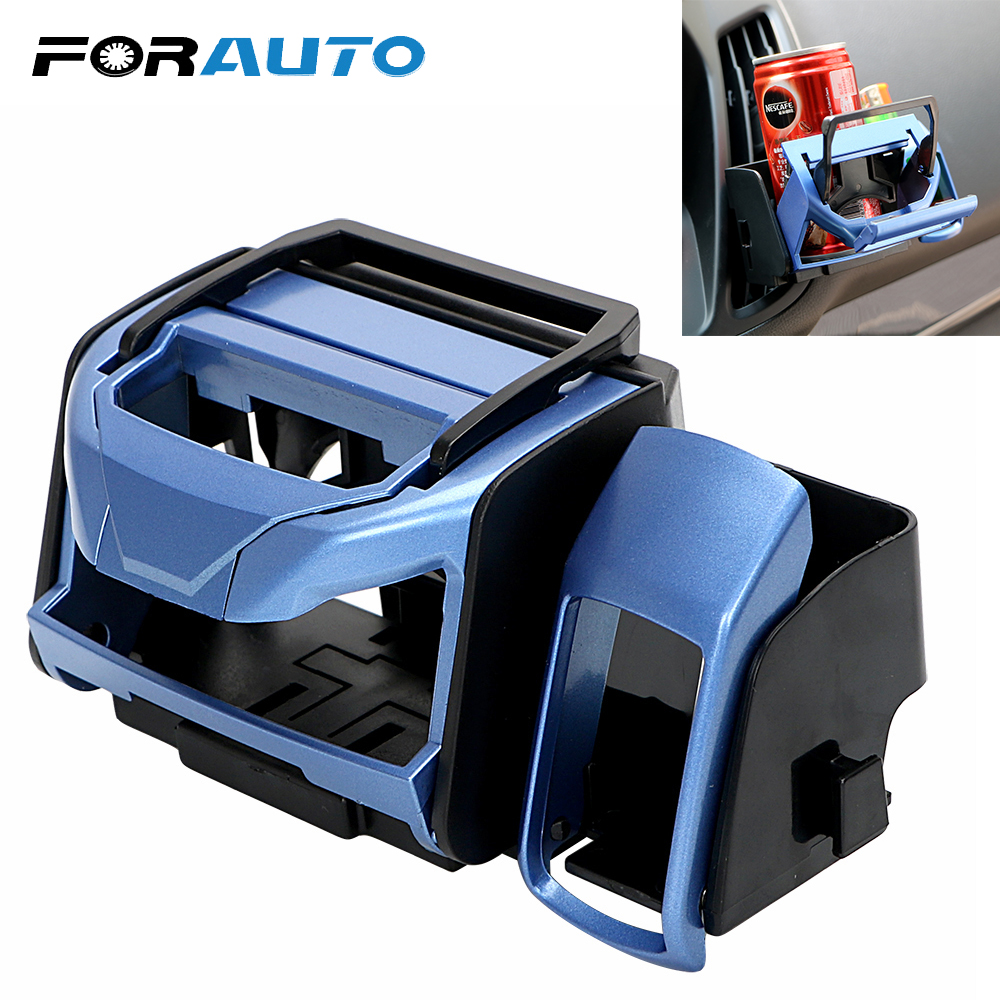 FORAUTO Car Air Vent Cup Holder For Cigarette Auto Drink Holder Oututlet Water Cup Stand Auto Accessories Car-styling