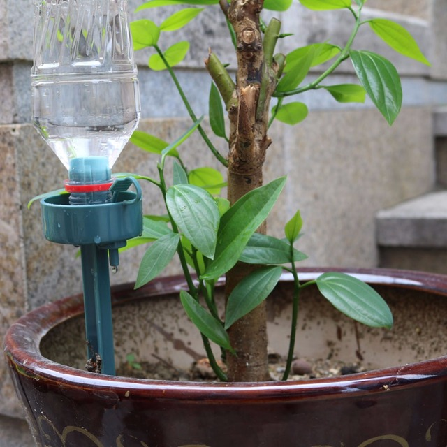 Automatic Self Watering Device DIY lazy environmental moving water drip watering Seepage controller for plant greenhouse 1PCS