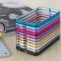 2016 Новые Анти Стук Металлического Алюминия Крышка Случая Рамки Бампера для iPhone 6 5 5S для iPhone 7 7 Plus Ultra Thin Slim Case крышка