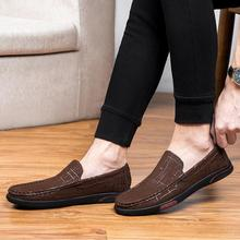 Rommedal New Mens Genuine Leather Loafers Extra Soft Shoes Men Casual Slip-on Driving Man Four Season