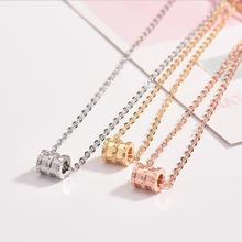 Everoyal New Arrival Female Rose Gold Pendant Necklace For Women Jewelry Fashion Silver 925 Girls Accessories Necklace Lady Gift exquisite zircon butterfly pendant necklace for women jewelry fashion rose gold lady necklace silver 925 accessories female gift