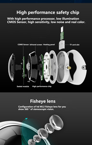 Image 3 - Caméra panoramique sans fil 5 mp XM 360 degrés