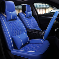 universal car seat covers leather auto covers for opel OMEGA Senator Vectra Record Lifan 620 720 X60 X50 solano breez smily