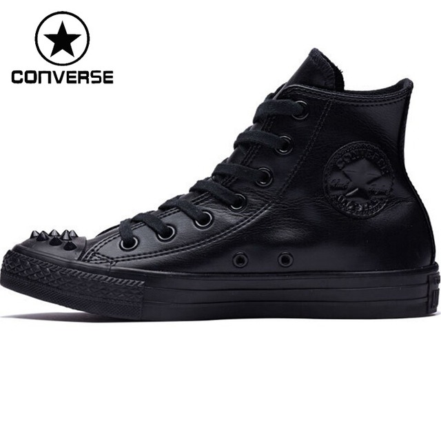 6795fff6ea7b31 Original New Arrival 2018 Converse Women s High Top Skateboarding Shoes  Canvas Sneakers