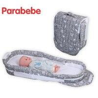 접이식 여행 침대 크래들 신생아 유아 휴대용 침대 어린이 침대 아기 침낭 여행 침대 접이식 아기 침대