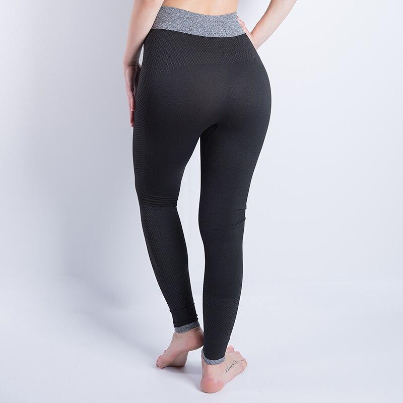 2018 Sport Leggings High Waist Sports Pants Gym Clothes Running Training Tights Women Sports Leggings Fitness Yoga Pants strength training