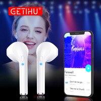 Mini Twins Bluetooth Spor Kulaklık Stereo Kulak Tomurcukları kulaklıklar kablosuz Kulaklık ahizesiz Kulaklık iPhone Samsung Xiaomi Için