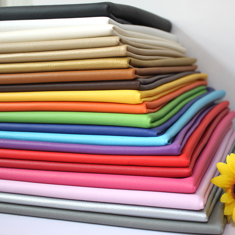 50x68cm Soft Pu Leather Material Car Interior Upholstery Eco Leatherette Fabric Neoprene For Furniture Seat Sofa Belt Automotive