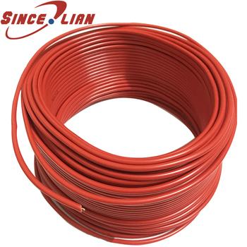 Drut twardy 1 5 kwadratowy rdzeń miedziany majsterkowanie domowe 1 5mm2 czysta miedź ognioodporny BV pojedynczy rdzeń miedziany czerwony kabel tanie i dobre opinie sincelian SINCELIAN BV 1 5 square wire Stałe Ogrzewanie Izolowane BV1 5 square wire ECECTRICAL CABLE Farrow Cable BV single core wire