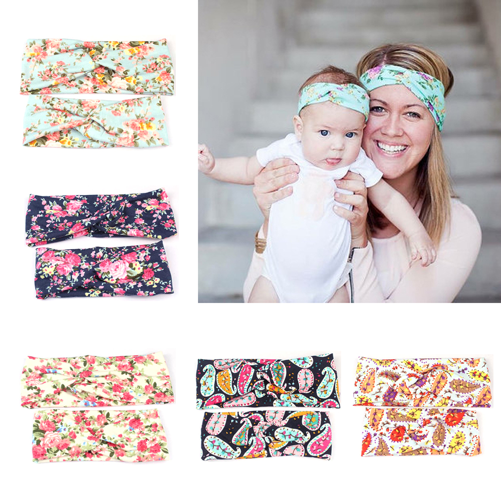 Newpopular Mother And Kids Adults And Keep Warm Elastic Cloth Bowknot Headband Red Colors Rubber Band Diademas Pelodrop Shopping With A Long Standing Reputation Accessories Mother & Kids