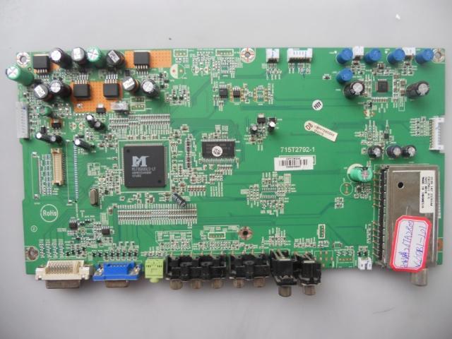 715T2792-1 For Screen V260B1-L01 Good Working Tested lcd27k73 original logic board 40 v260b1 tcb2xg screen v260b1 l02 connector cable