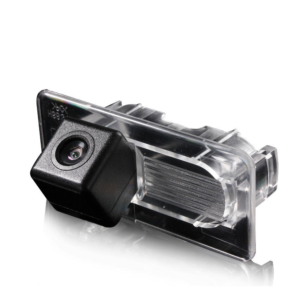 HD 1280x720p Rear Reversing Camera Integrated in Number Plate Light License Rear View Backup Camera for Toyota Yaris 2004 2006 2007 2008 2009 2010 2011 2012 Vitz