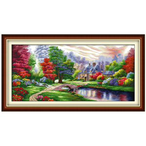 Image 2 - The Ambilight patterns Counted Cross Stitch Diy 11CT 14CT Cross Stitch Set Chinese Cross Stitch Kit Embroidery Needlework