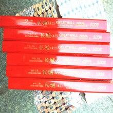 50 adet/grup toptan Marangoz Kalem Düz Kalın Kurşun Marangoz Profesyonel Kalem marangoz için