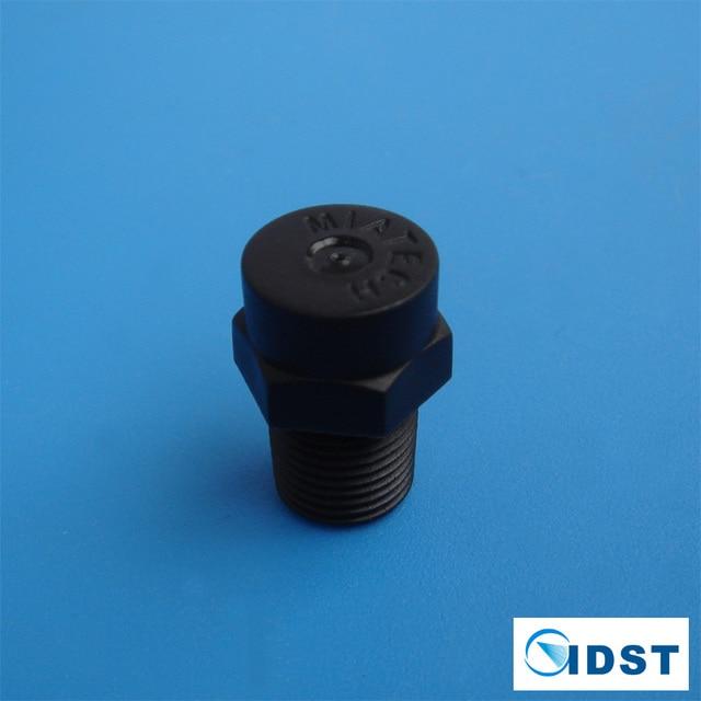 FGP low pressure plastic black water mist nozzle, misting system accessories