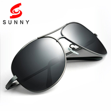 2016 High Quality Oversized Sunglasses Men Polarized Drive Sun Glasses Big Polaroid Male Anti UV400 Protect Anti-Reflective 215